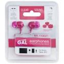 Наушники GAL M-005P-F (розовый)