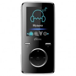 "MP3 плеер RITMIX RF-4950 4Gb Черный (1.8"",MP3,WMA,APE,JPEG,FM,диктофон,MicroSDHC,до 12ч)"