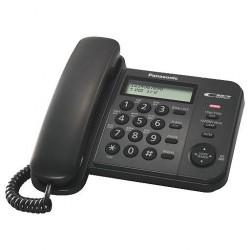 Телефон Panasonic KX-TS2356 RUB (повторн.набор/тон.набор/настен.установка/книга-50н/АОН/отключение микрофона/блокировка набора номера/индикатор вызова)