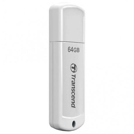 Флешка Transcend 370 Белый TS64GJF370 64Gb (USB2.0)