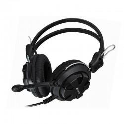 Гарнитура A4Tech HS-28 мониторные, 32Ом, 105дБ, кабель 1.8м, Black