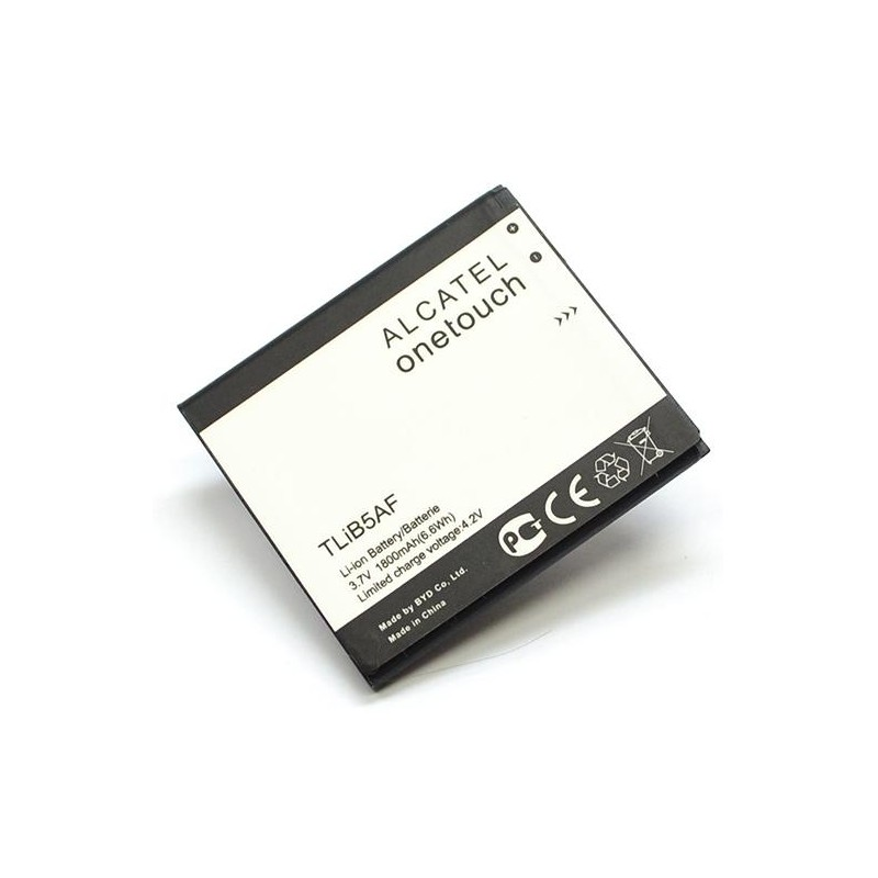 АКБ Alcatel TLiB5AF (OT-5036D/POP C5) 3,7V 1800mAh