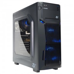 Корпус ATX Zalman Z1 NEO (USB3.0,Audio,window,черный)