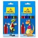 Карандаши 12цв. ADEL Colour 211-2315-007