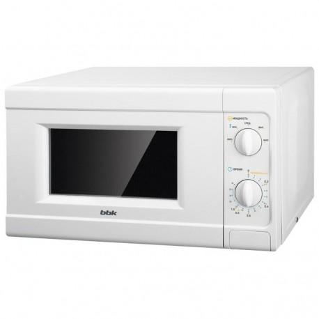 Микроволновая печь BBK 20MWS-705M/W White 700Вт, 20л, механ-е упр.
