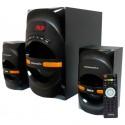 Актив.колонки 2.1 Dialog Progressive AP-210B 30W+2*15W RMS Bluetooth USB+SD reader BLACK