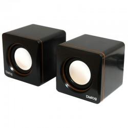 Актив.колонки 2.0 Dialog Colibri AC-04UP 6Вт, питание от USB, пластик, Black/Orange