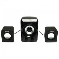 Актив.колонки 2.1 Dialog Colibri AC-202UP 11Вт, питание от USB, пластик, Black