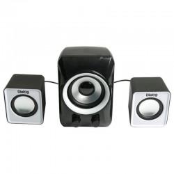 Актив.колонки 2.1 Dialog Colibri AC-202UP 11Вт, питание от USB, пластик, Black/White
