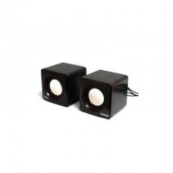 Актив.колонки 2.0 Dialog Colibri AC-04UP 6Вт, питание от USB, пластик, Black/Red
