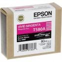 Картридж струйный Epson T580A C13T580A00 для Stylus Pro 3880 Vivid Magenta 80ml