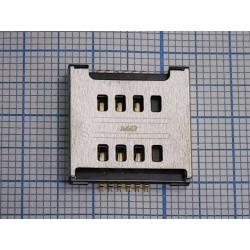Коннектор SIM LG E455/E615/P715/T370/T375/D686/D380/D325