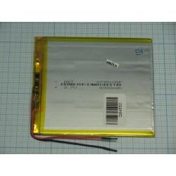 АКБ для  планшетов универсальный Li-Pol 3,7x95x105мм 3,7v 3500mAh