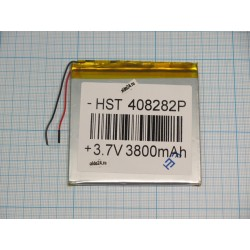 АКБ для  планшетов универсальный Li-Pol 4,0x82x82мм 3,7v 3800mAh