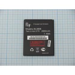 АКБ Fly BL3808 ( IQ456/Era Life 2 ) 3,7V 2000mAh