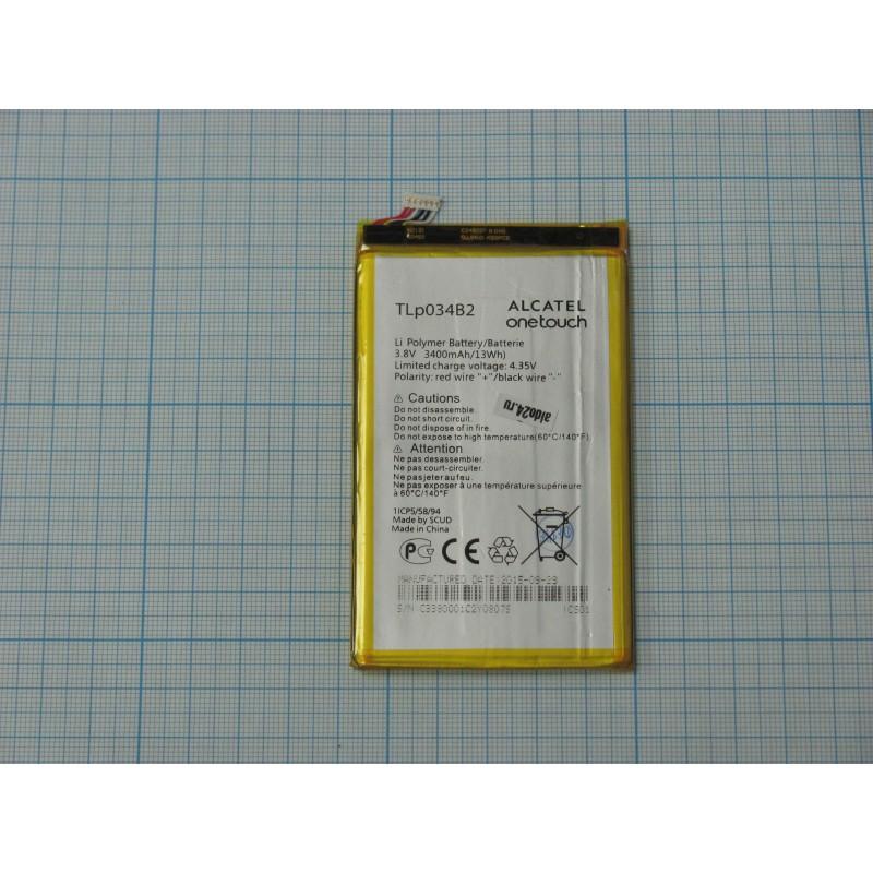 АКБ Alcatel TLp034B2 (OT-7050Y/8020/Pop S9 / Hero ) 3,8V 3400mAh