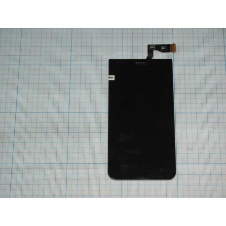 Дисплейный модуль HTC Desire 300 чёрный