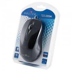 Мышь USB Oklick 205M оптическая, 800dpi, кабель 1.1м, Black