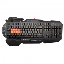 Игровая клавиатура USB A4Tech Bloody B318 мембранная, частично механика, 113 клавиш, Black