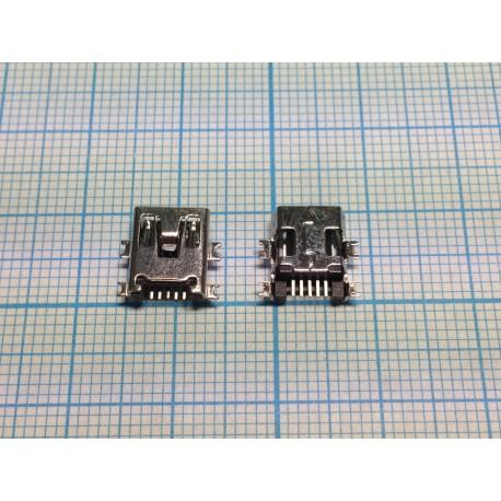 Разъём mini-USB №01 (крепление по центру)