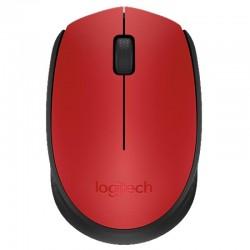 Мышь беспроводная Logitech M171 (910-004641) оптическая, 1000dpi, радиус действия до 10м, Red