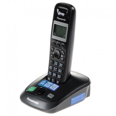 Радиотелефон Panasonic KX-TG2521 RUT,темно-серый 1трубка/50м/300м/АОН/книга 50номеров/спикерфон/авто