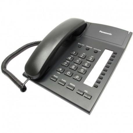 Телефон Panasonic KX-TS2382RUB повторн.набор/тон.набор/настен.установка/быстр.набор-20кн/блокировка