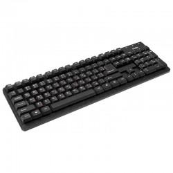 Клавиатура USB Sven Standard 301 мембранная, 105 клавиши, Black