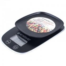 Кухонные весы Endever KS-526 Black электронные, пластик, макс. 5кг, точность 1г, авто вкл/выкл