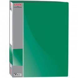 "Папка 4 кольца BERLINGO ""Standard"" 25мм. 700мкм. зеленая (ABp 42104)"