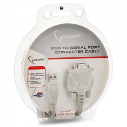 Переходник USB=>COM Gembird/Cablexpert UAS111 1.8м кабель-адаптер