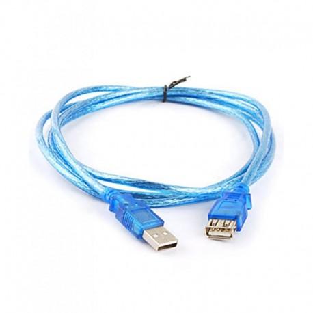 Кабель удлинительный USB2.0 AA 3м VCOM