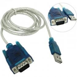 Переходник USB=>COM VCOM VUS7050 RS232 кабель 1.2м