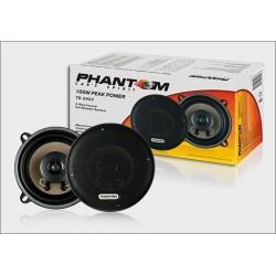 Колонки автомобильные 13см Phantom TS-5423 40/100Вт, 60-20000Гц, 4Ом, 91дБ, коаксиальная АС