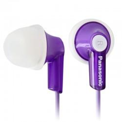 Наушники Panasonic RP-HJE118GUV вставные, 16Ом, 96Дб, кабель 1.1м, Violet