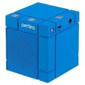 Портативная акустика Perfeo XBASS-BOX Bluetooth 3.0, Aux, handsfree, 3Вт, синий (PF-XBBX-BL)