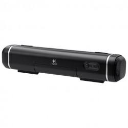 Портативная акустика Logitech Tablet Speaker батарея/USB, mini jack 984-000199, Black