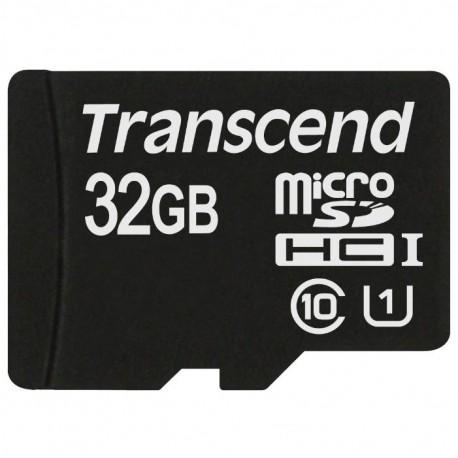 Карта памяти MicroSDHC 32Gb Transcend Class10 без адаптера TS32GUSDCU1 UHS-1