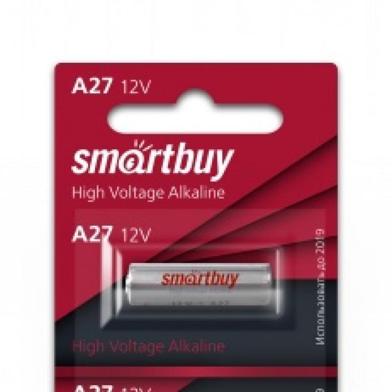 Батарейки 27A  12V Smartbuy 1шт уп (SBBA-27A5B)