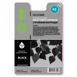 Картридж струйный Cactus CS-51645 №45 для HP DJ 710c/720c/722c/815c/820cXi/850c/870cXi/880c Black