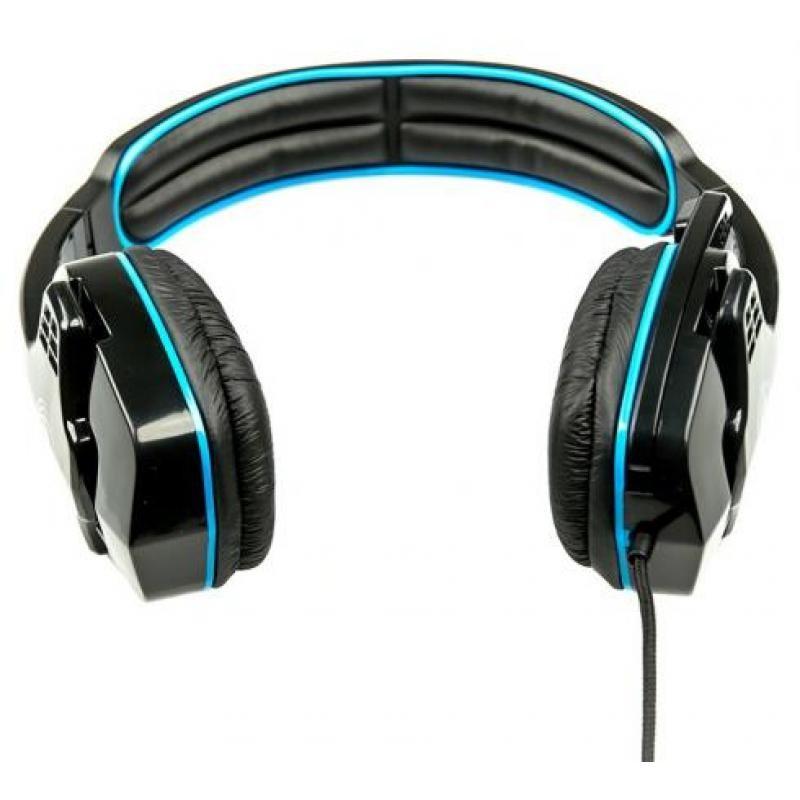 Игровая гарнитура Dialog Gan-Kata HGK-15 мониторные, 32Ом, 105дБ, кабель 2м, Black/Blue