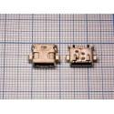 Системный разъём №123 micro-USB Sony LT30i/MT27i