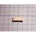 FPC коннектор 6 pin шаг 1,0 мм