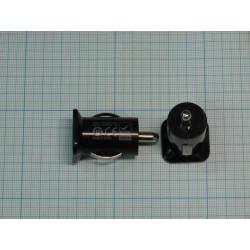 Блок питания автомобильный USB, 5в, 3.1а, 18вт, 2*USB-F, Usams