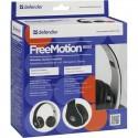 Гарнитура Defender FreeMotion B550 черный, Bluetooth, беспроводная