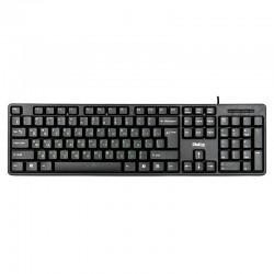 Клавиатура USB Dialog KS-030U мембранная, 104 клавиши, Black