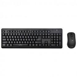 Комплект (клавиатура+мышь) Oklick 270M радиус действия до 10м,Black беспроводной