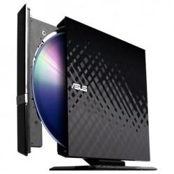 Внешний привод USB 2.0 DVD+/-RW Asus SDRW-08D2S-U Slim черный