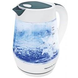 Чайник Zigmund & Shtain KE-817 White (2200Вт,1.7л,стекло,закрытая спираль)