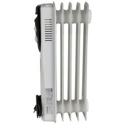 Масляный радиатор Ballu BOH/CL-05WRN 1000Вт, 15кв.м, 5 секций, регулировка мощности